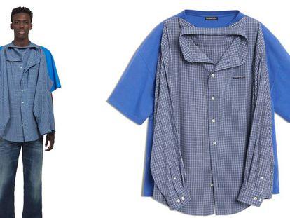La camisa doble y otras provocaciones con las que Balenciaga rompe la moda