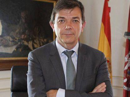 El rector de la Universidad Complutense de Madrid Carlos Andradas.