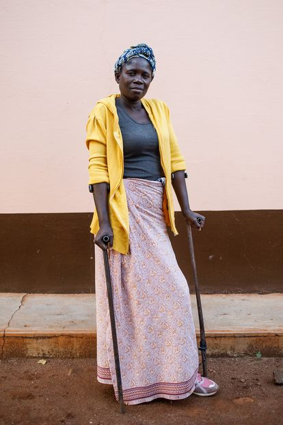 Celeste José stepped on an antipersonnel mine while on her way to work in the family garden in Matola, Mozambique.  Was 16 years old.