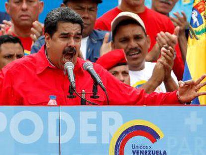 La elección de delegados para una Asamblea Nacional Constituyente acabará con el Parlamento de mayoría opositora que los venezolanos votaron hace menos de dos años
