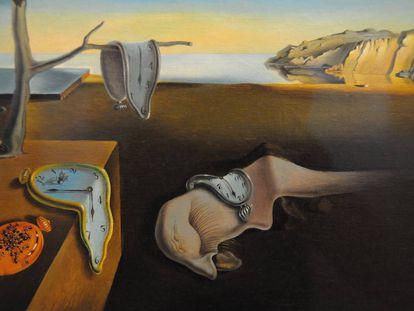 'La persistencia de la memoria' (1931), de Salvador Dalí.