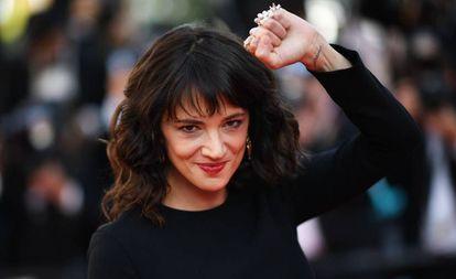 La actriz Asia Argento.
