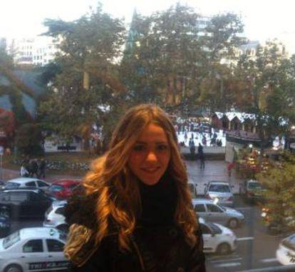 Andrea, en una imagen de su perfil de Facebook.