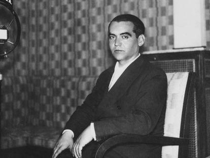 El poeta granadino Federico García Lorca.