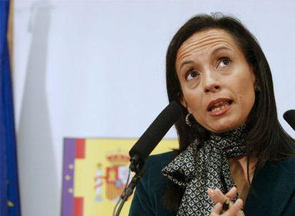 La ministra Beatriz Corredor, antes de presidir el Consejo del Plan Estatal de Vivienda.