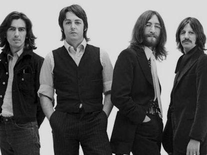 Los Beatles en una imagen promocional de 1969.