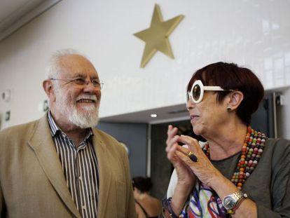 El director de cine, guionista y escritor Gonzalo Suárez y la periodista y escritora Maruja Torres galardonados con los premios Terenci Moix.