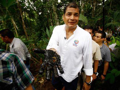 Rafael Correa, en una imagen de archivo.