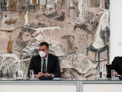 Pedro Sánchez y Pablo Iglesias el pasado mes de octubre.