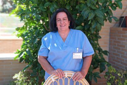 Natividad López Langa, presidenta de la Asociación Española e Internacional de Enfermería Escolar.
