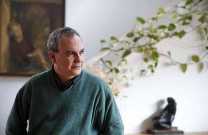 El escritor Pablo d'Ors, en febrero pasado.