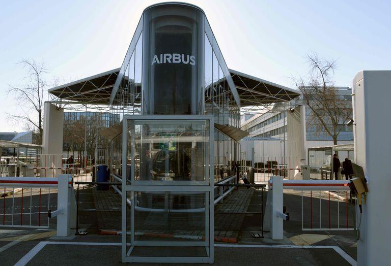 Oficinas de Airbus en Blagnac (Francia).