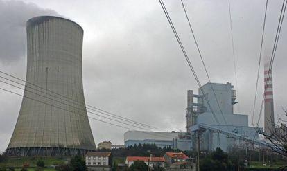 Central térmica de Meirama, en Cerceda ( A Coruña).