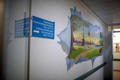 Unidad para adolescentes con cáncer en el Hospital 12 de Octubre.