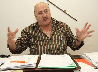 El alcalde de Alcaucín, José Manuel Martín Alba