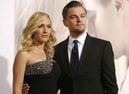 Winslet y DiCaprio, en la presentación de Revolutionary Road en 2008.