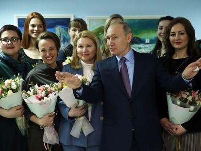 El presidente de Rusia, Vladímir Putin, el pasado viernes, en Ivanovo (Rusia).